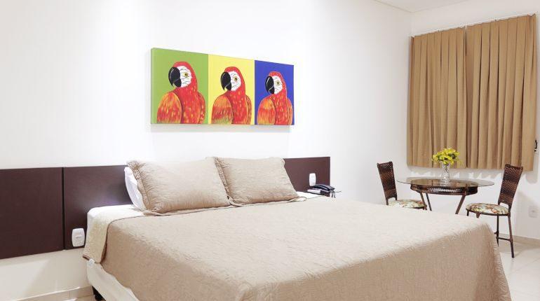Apartamento Luxo Casal da Pousada das Araras de Araçuaí