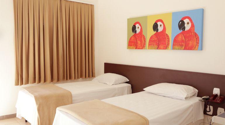 Apartamento Standard da Pousada das Araras de Araçuaí