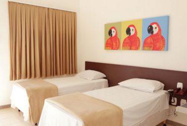 Apartamento Luxo Duplo da Pousada das Araras de Araçuaí